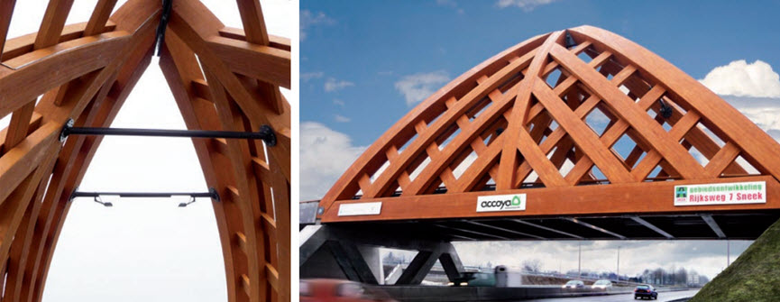 Timber for Landscaping Accoya Wood Bridge